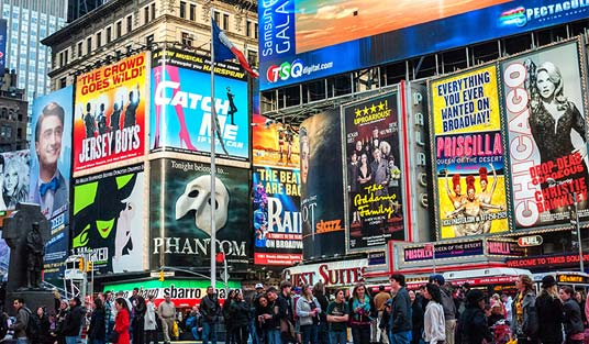 time-square-broadway-viaggio-nozze-new-york-crociera-caraibi